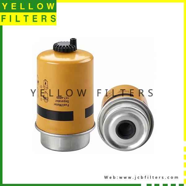 caterpillar fuel water separator 117