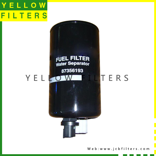 CASE FUEL FILTER 87356193YELLOW FILTERS INDUSTRY